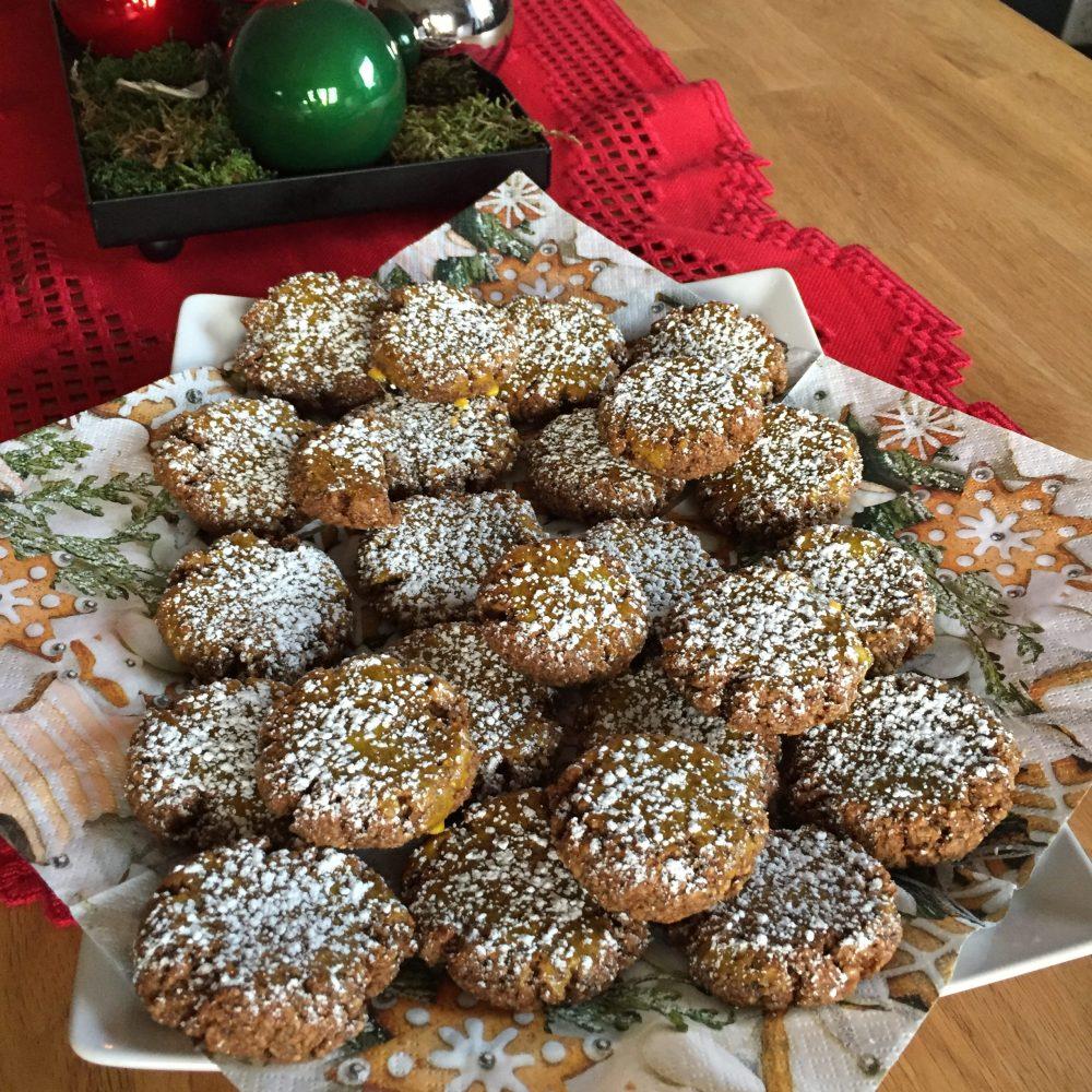 gluten free Christmas Cookies: cinnamon cookies