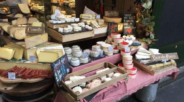 Käse auf dem Borough Market