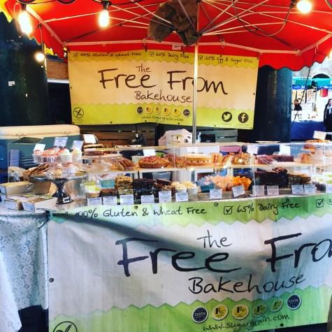 Free From Bakehouse auf dem Borough Market