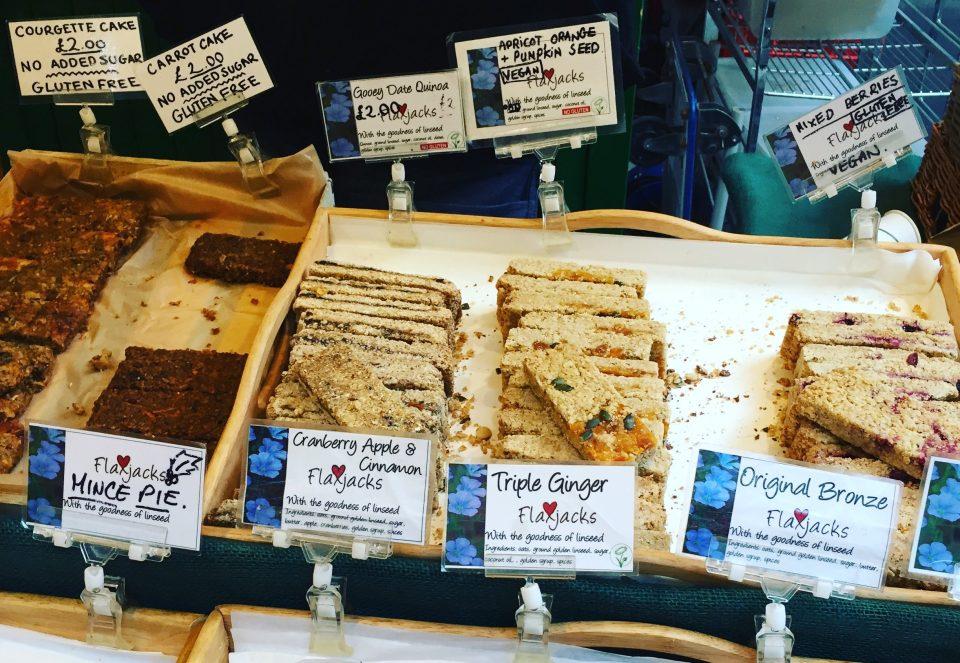 Flaxjacks auf dem Borough Market