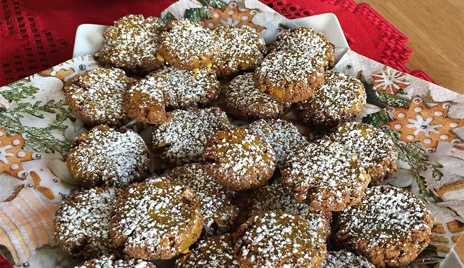 Selfmade gluten free Christmas Cookies