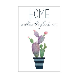 Home is where the plants are