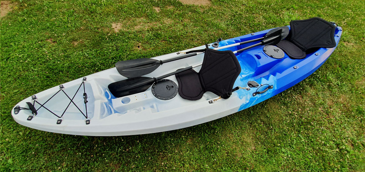 si/ège de stade r/églable avec dossier et si/ège de surf rembourr/é en nylon r/ésistant aux UV Kajak Si/ège de kayak Canusport avec assise inclinable