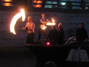 Waterfire dancers