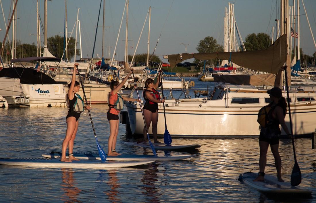 chicago paddleboard instruction