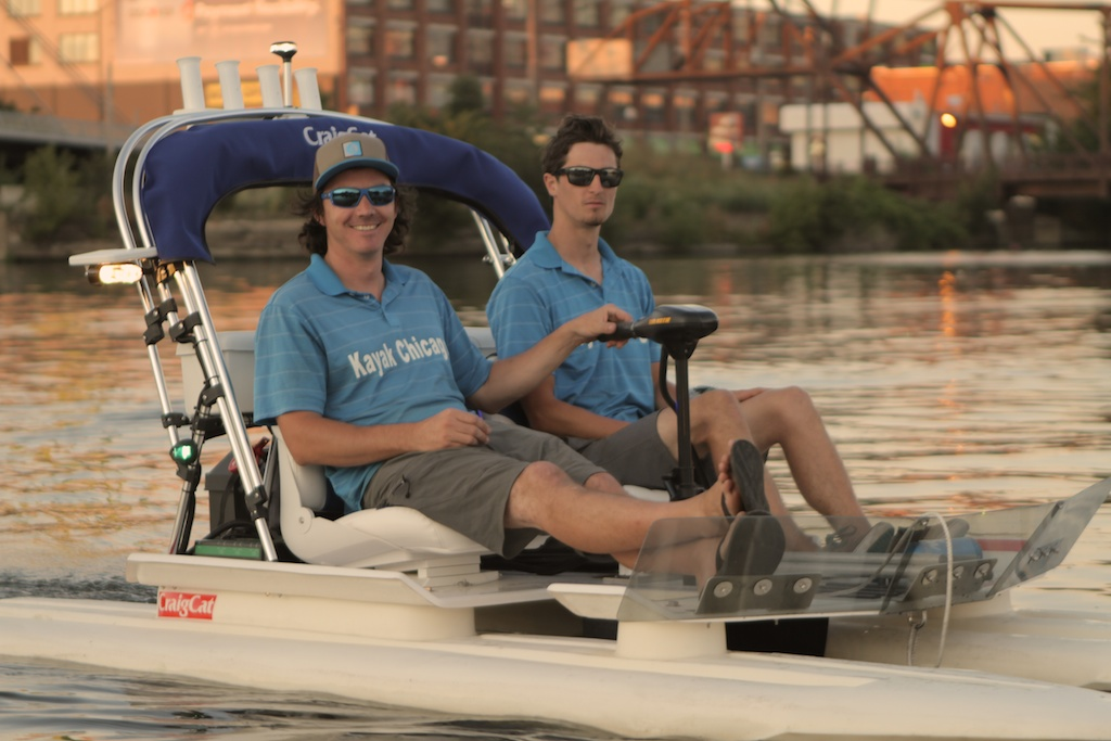 chicago electric boat rental