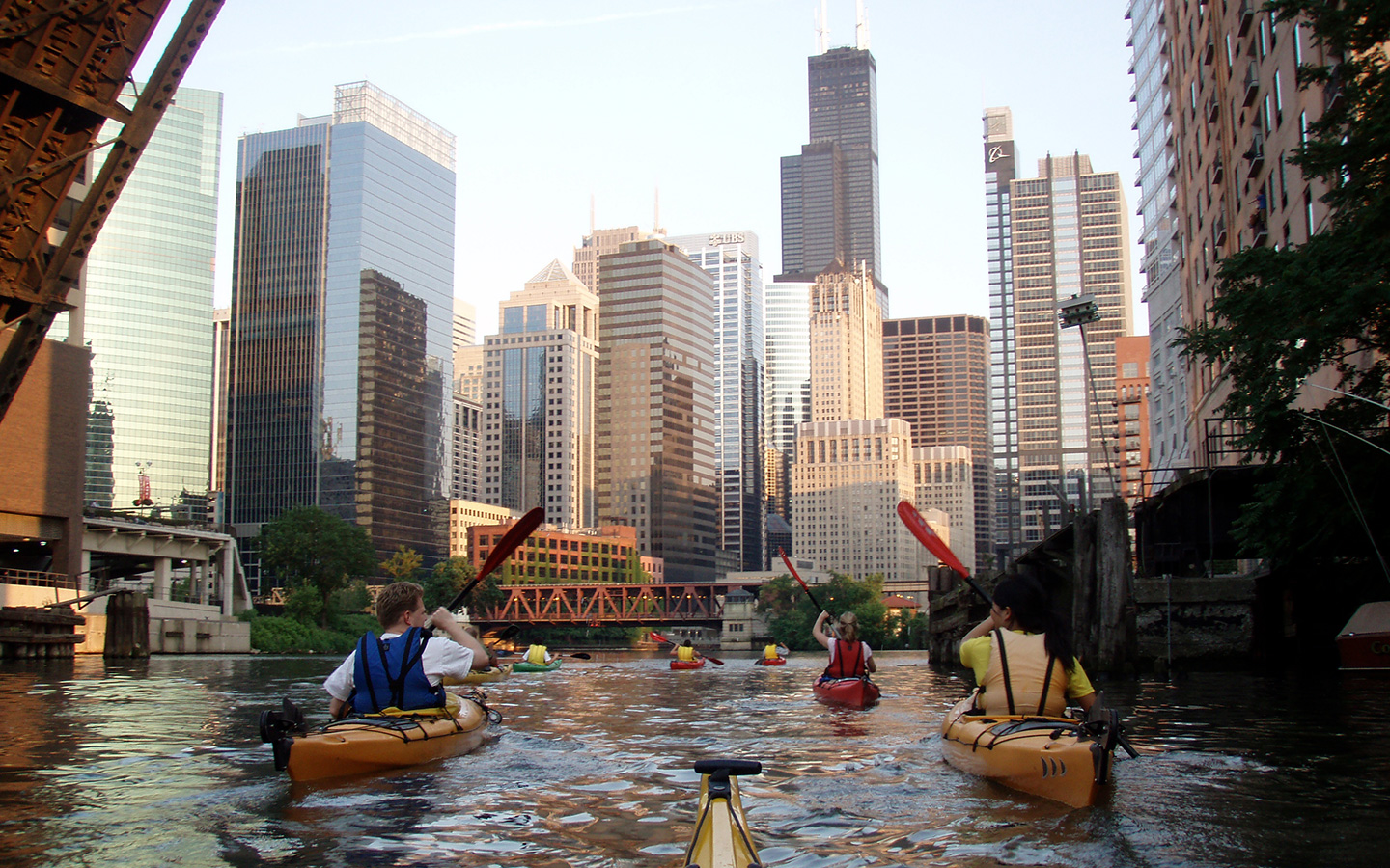 chicago kayak tours
