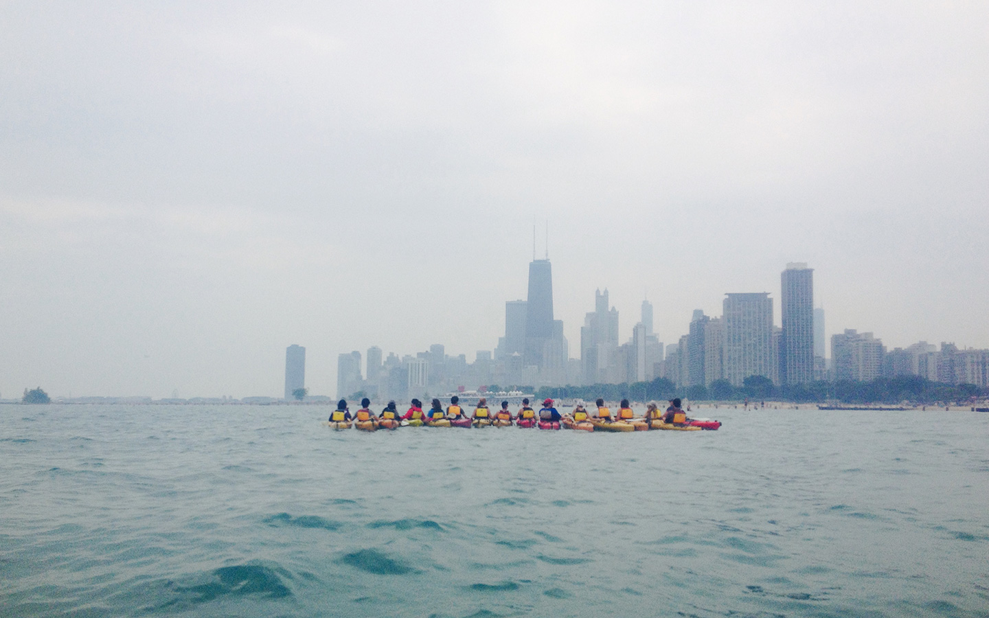 chicago architectural kayak tour
