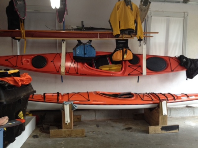 Boreal Alvik S Kayak Storage Solution Kayak Dave S