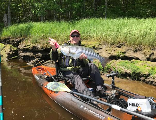 Dan from Pennsylvania with a great fish.