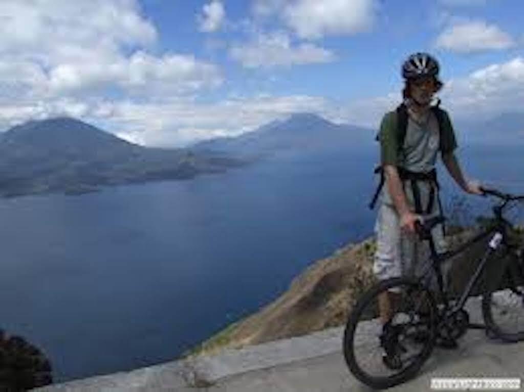 Best bicycle tour - Lake Atitlan - explore Mayan villages - bike - adventure