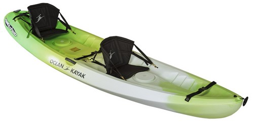 Ocean Kayak 12-Feet Malibu Two Tandem Sit-On-Top Recreational Kayak