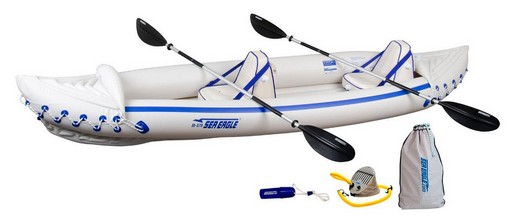 Sea Eagle SE370K_P Inflatable Kayak with Pro Package - Best Fishing Kayak