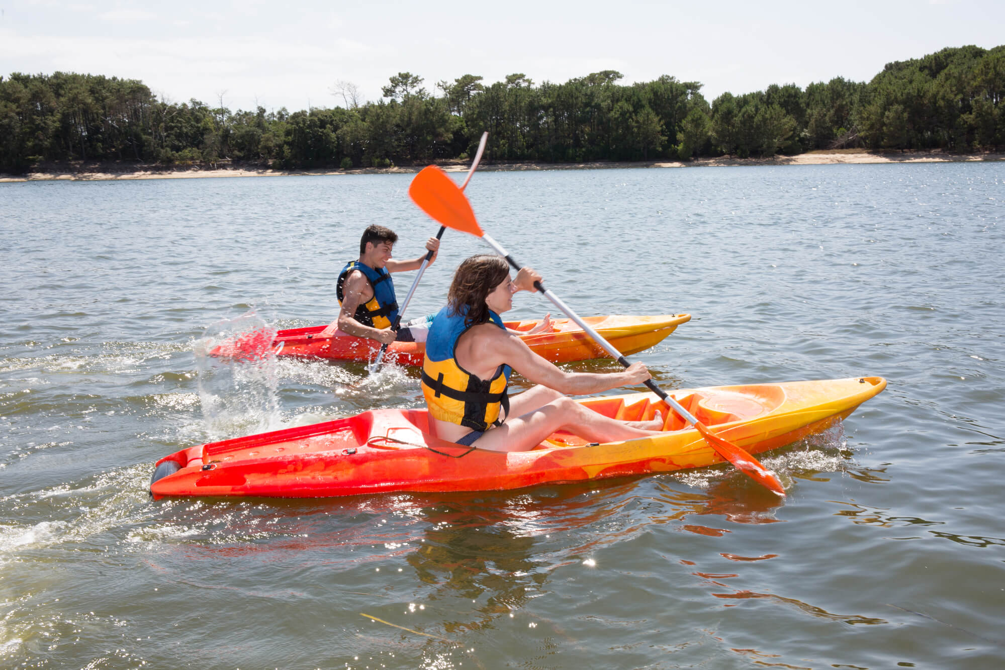Sit-On Top Kayak - watersports in the sun