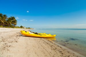 Kayak in Crandon Park - Miami