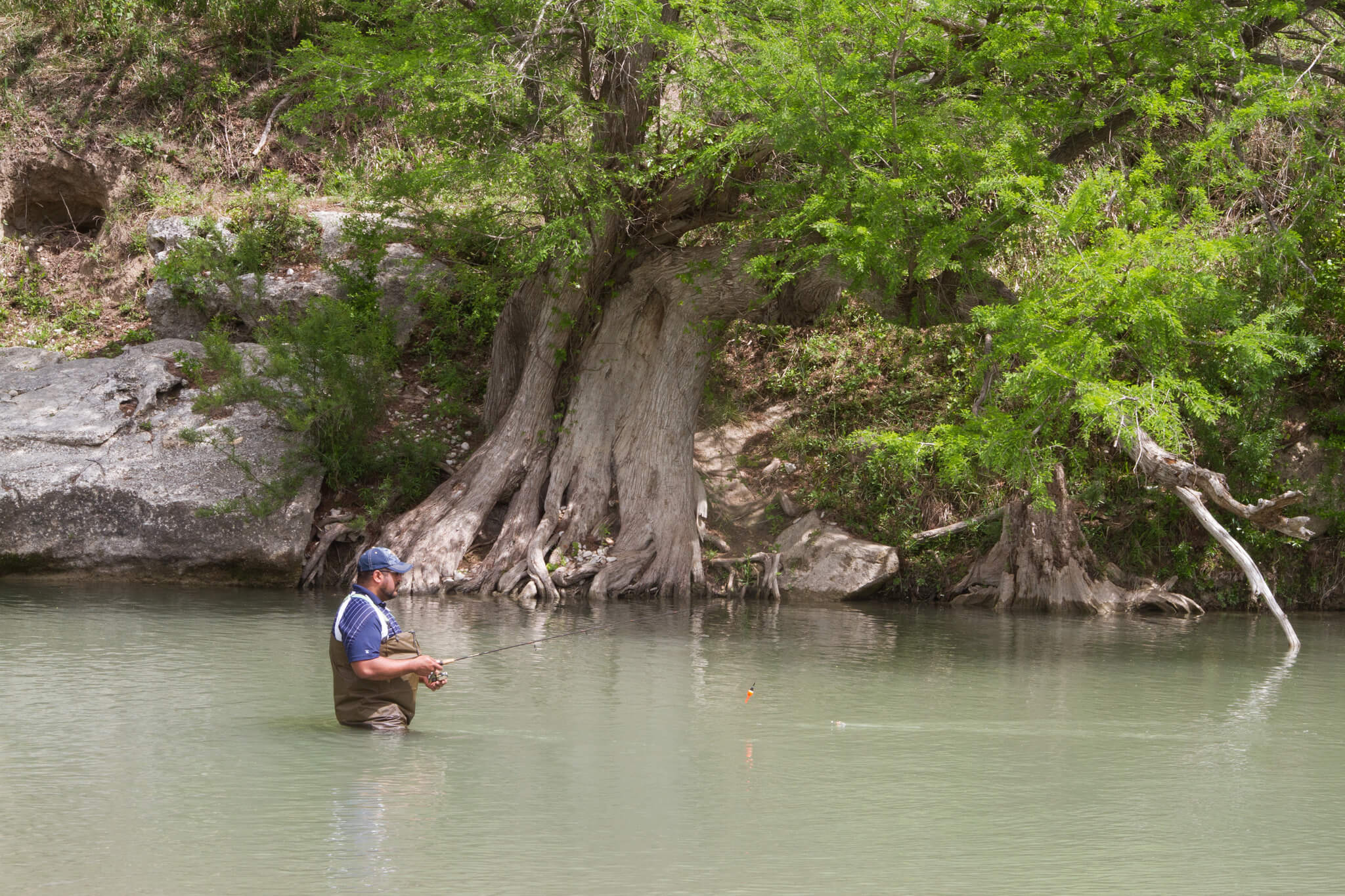 Guadalupe River, Texas - fishing