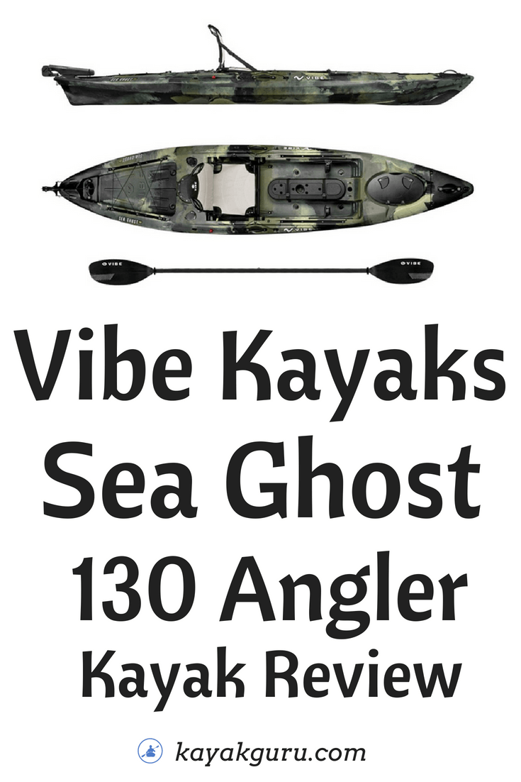 Vibe Sea Ghost 130 Angler - Pinterest Image