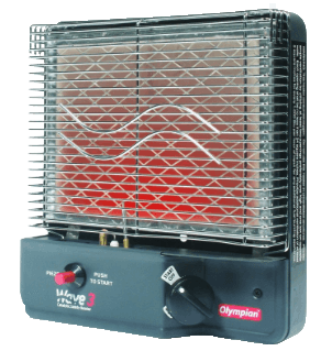 Olympian Wave 3 Portable Catalytic Heater