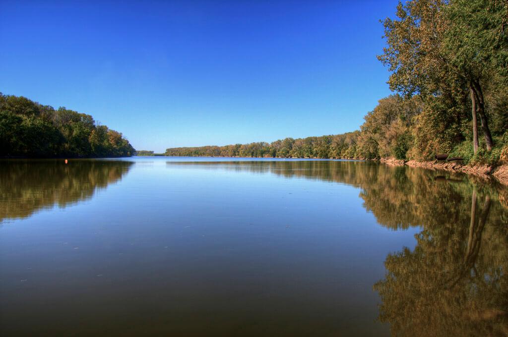 Kansas River - great for kayaking