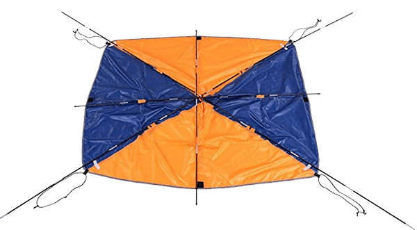 Lixada 4-person Inflatables Boat Sun Shelter