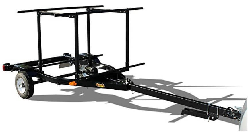 Right-On Trailer Multi-Sport for kayak transport
