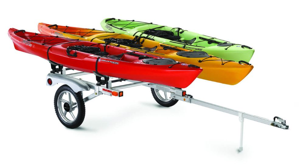 Yakima Rack and Roll trailer for kayaks and canoes