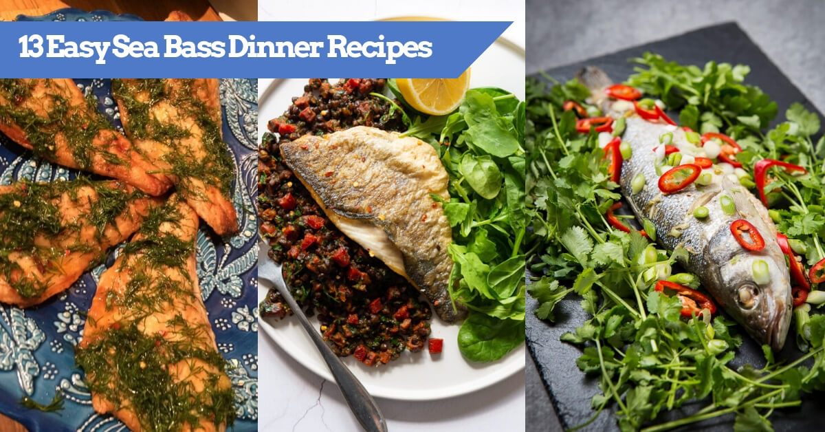 13 Easy Sea Bass Dinner Recipes To Cook - Featured image