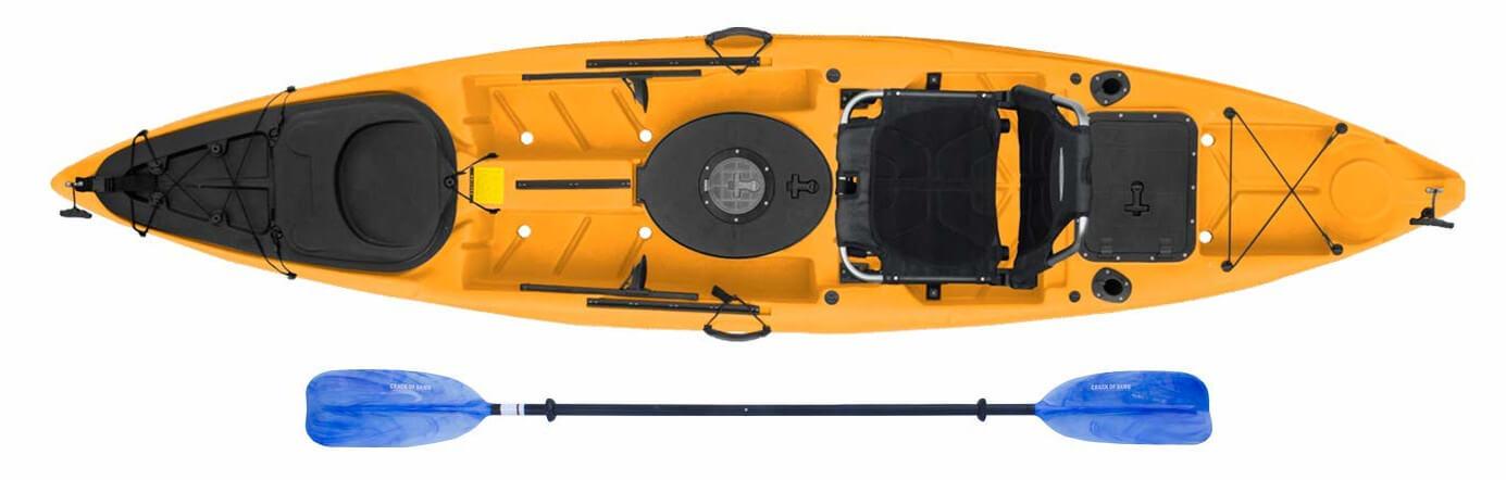 Malibu Kayaks Stealth 12 Sit on Top Fishing Kayak