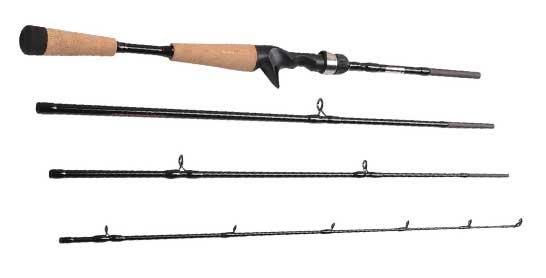 Fiblink 4 Piece Travel Casting Rod