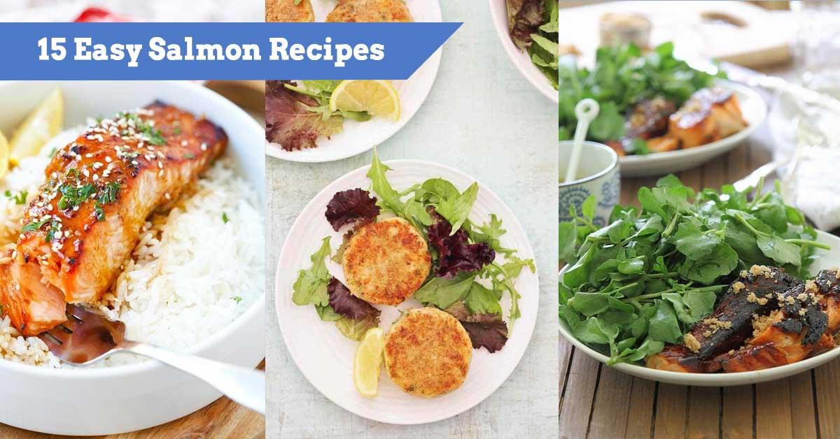 15 Easy Salmon Recipes