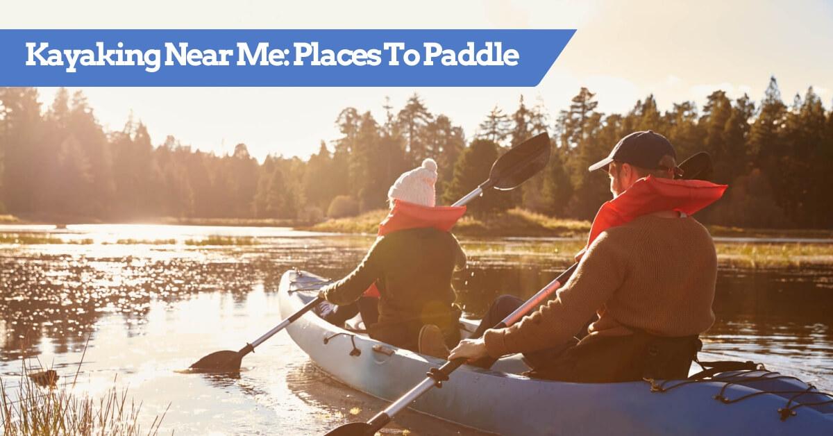 Kayaking Near Me - Interactive Map Image
