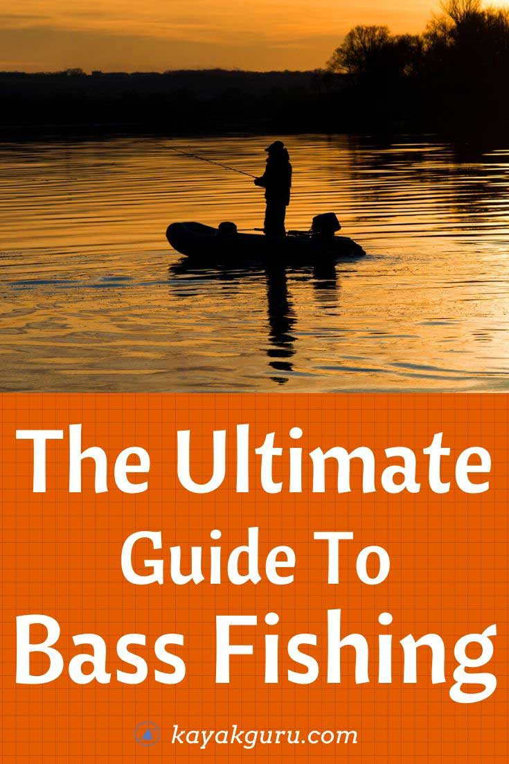 The ultimate guide to bass fishing. What rods, reels lures to use , when and how