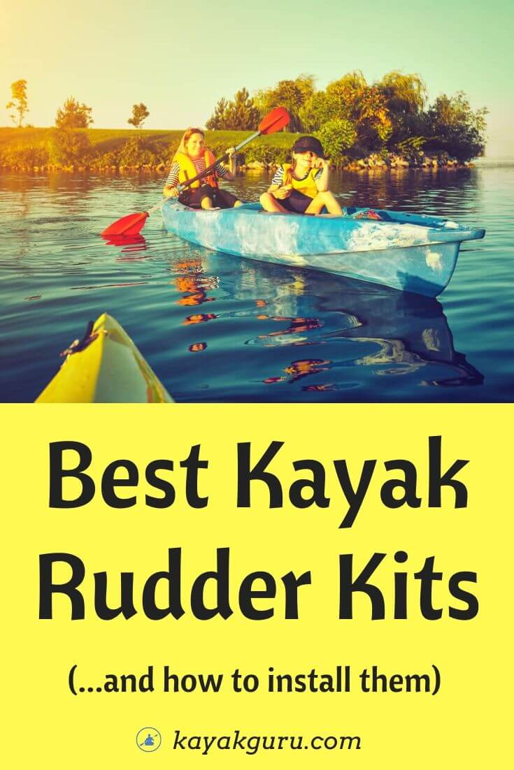 Best Kayak Rudder Kits (And How To Install Them) - Includes for trolling motors