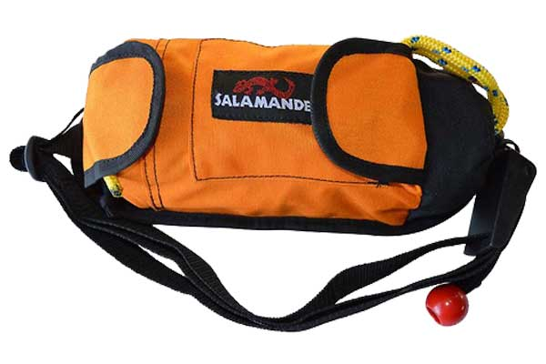 Salamander Retriever Kayak Rescue Throw Rope Bag