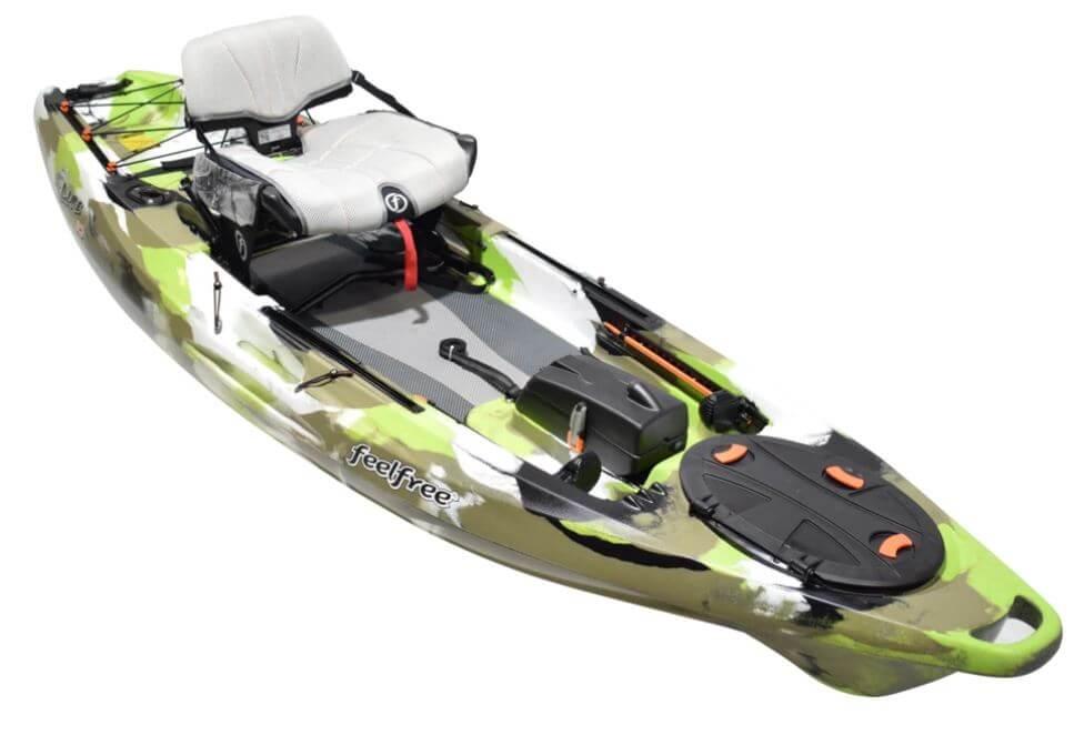 Feelfree Lure 10 Lime Fishing Kayak