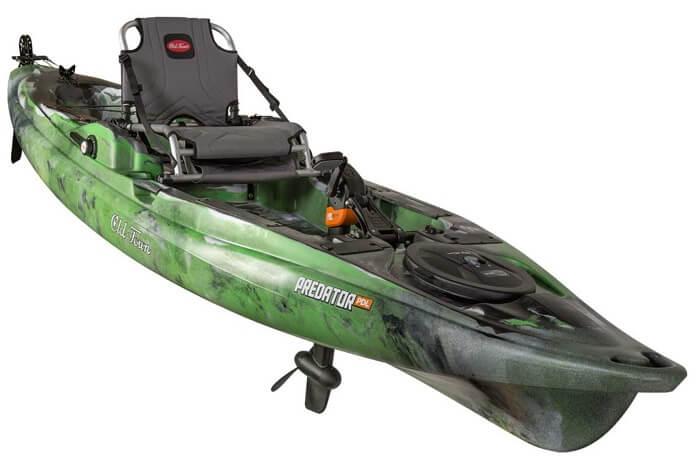 Old Town Predator PDL Pedal Kayak Green