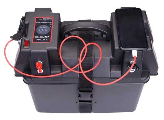 Homeon Wheels Trolling Motor Smart Battery Box