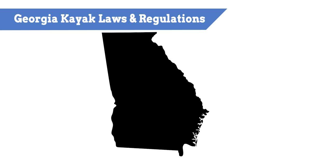Georgia Kayak Laws & Regulations