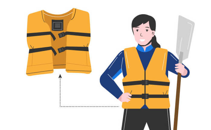 Kayak Laws PFD Life Vests and jackets. What are the rules?