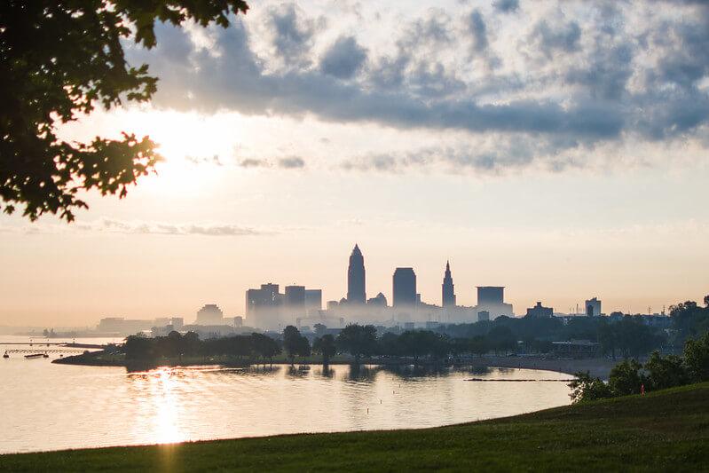 Edgewater Park Kayaking Cleveland