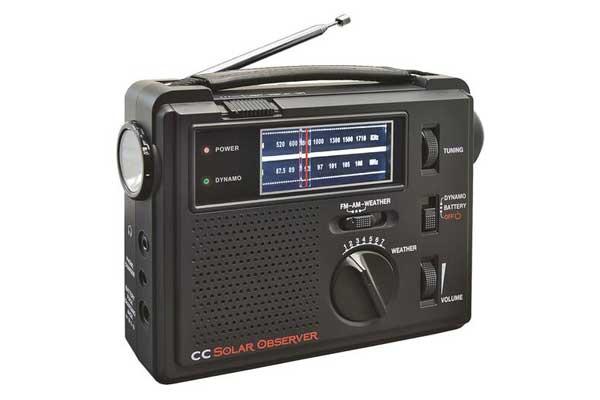 C Crane CC Solar Observer AM/FM Radio