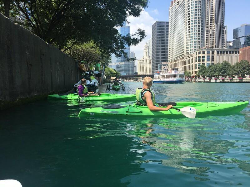 Chicago River Kayaking