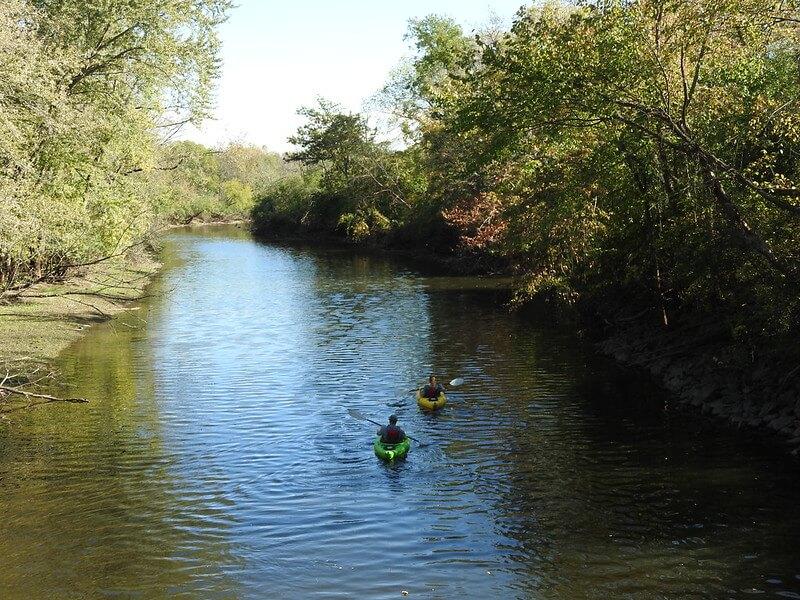 Des Plaines River Kayaking
