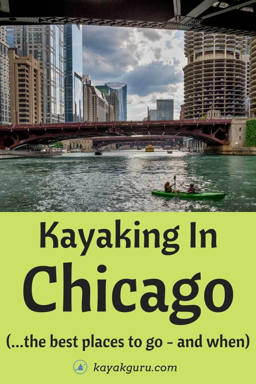 Kayaking In Chicago - Pinterest