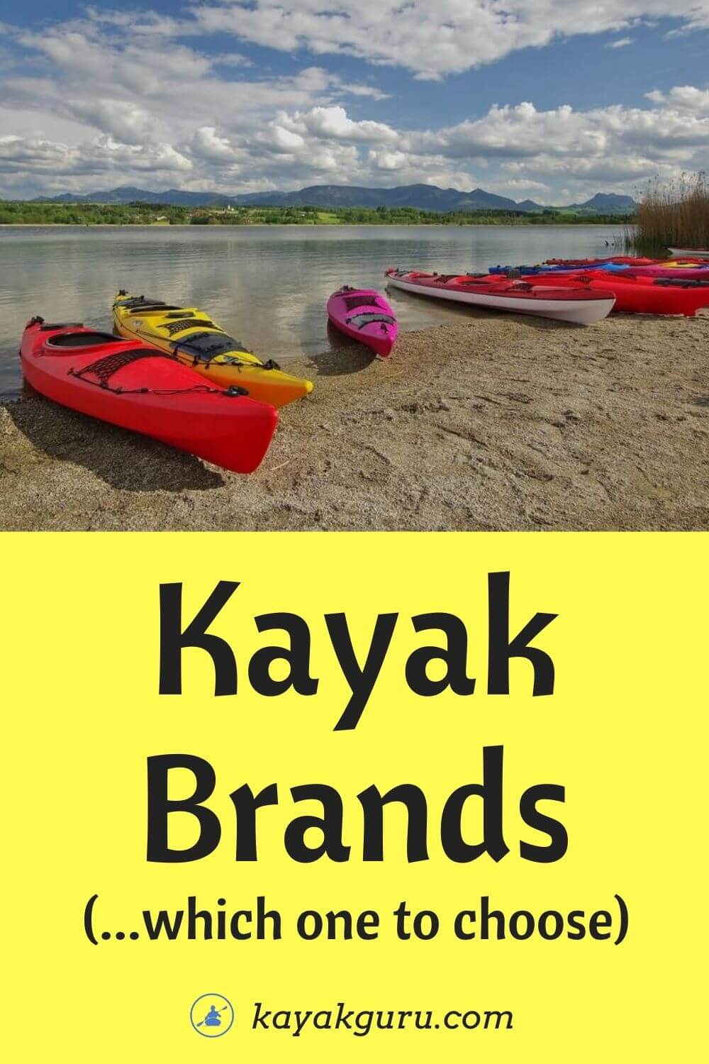Best Kayak Brands available to buy today- Pinterst