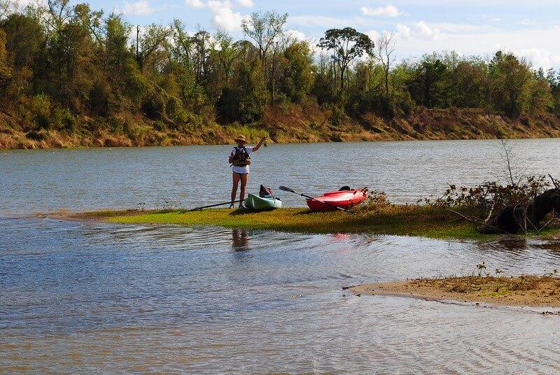 Trinity River Kayaking