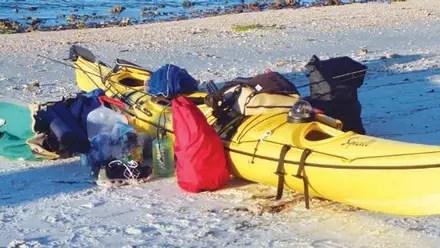 Overnight Kayak Trip Planning