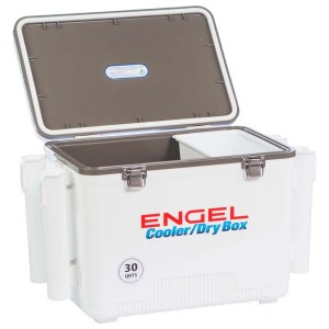 The Cooler With Rod Holder
