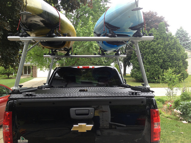 Kayak Don T Fit The Truck Bed 3 Solutions Kayaking Venture