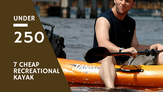kayaks under 250